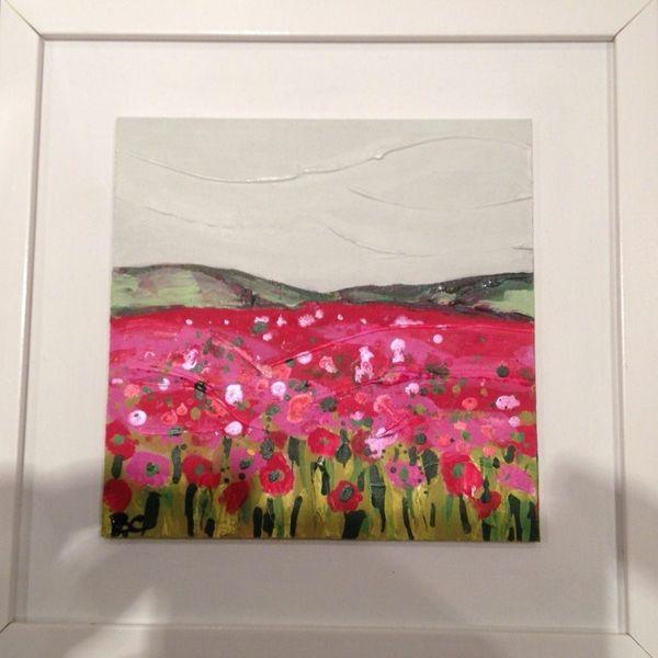 Tiny Pink Poppyfield