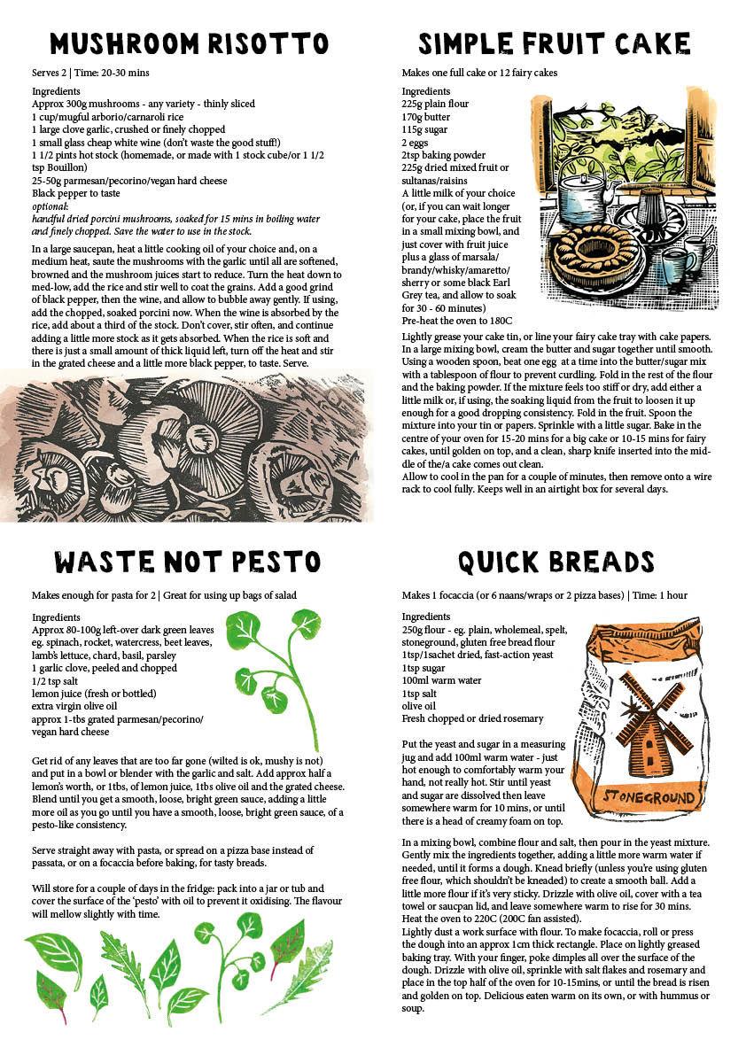 Storecupboard Recipes