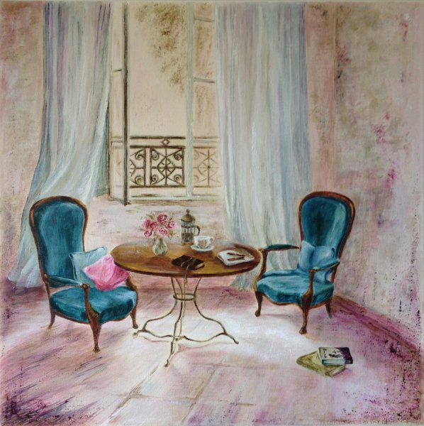 The Writing Table  SOLD