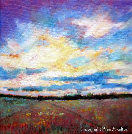 Big Sky Dawn - SOLD