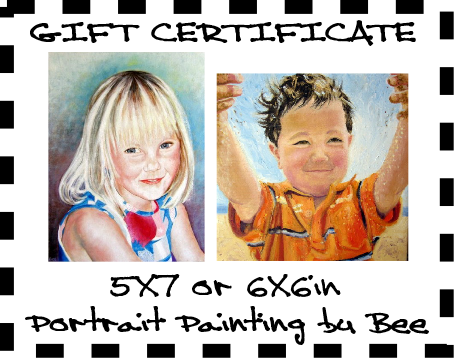 Portrait Gift Certificates. See in Shop.