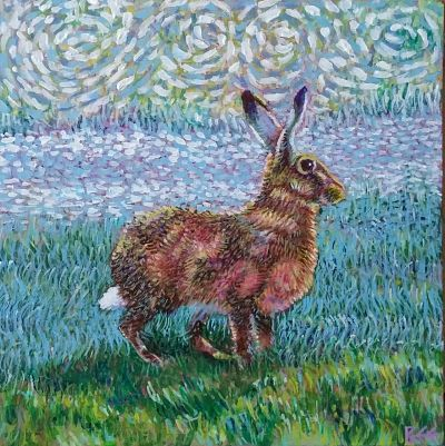 Golden Hare - SOLD