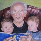Grandad Read Us a Story SOLD