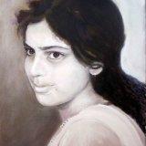 Tonal oil portrait SOLD