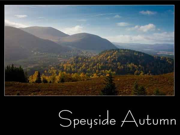 Third Place: Speyside Autumn