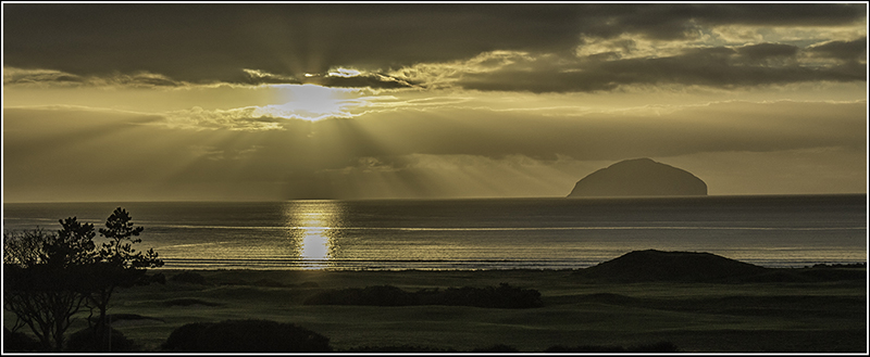 Projected Image 3rd Place:  Ailsa Craig