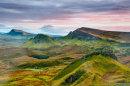 Third Equal:  Evening over Trotternish