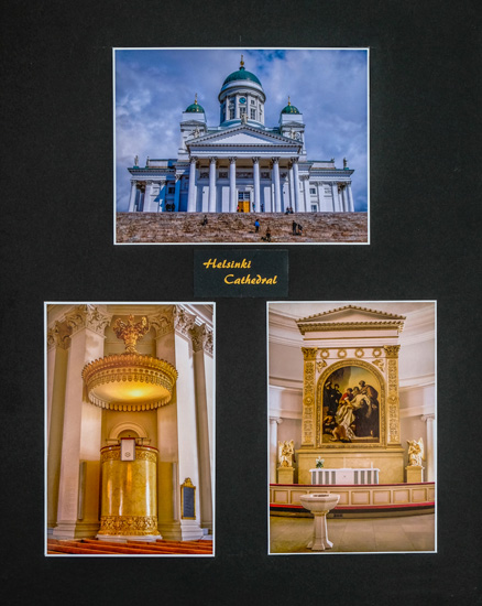 Second place:  Helsinki Cathedral