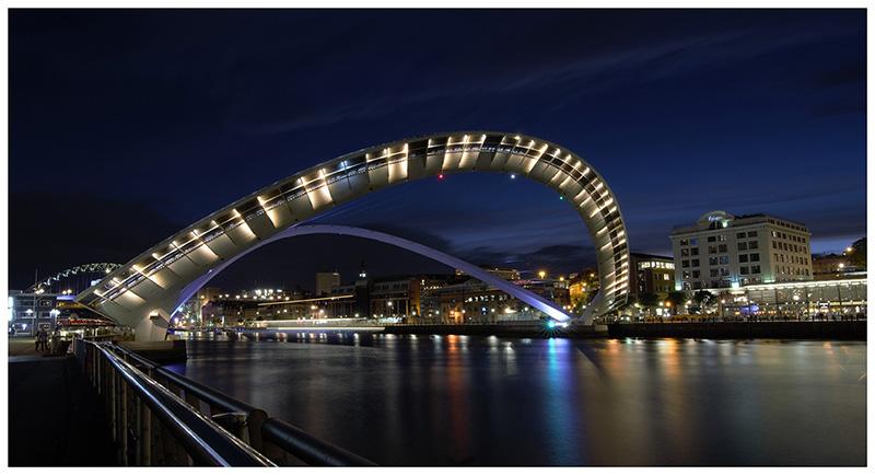 Projected Image Third Equal:  Millenium Bridge - Open Sesame