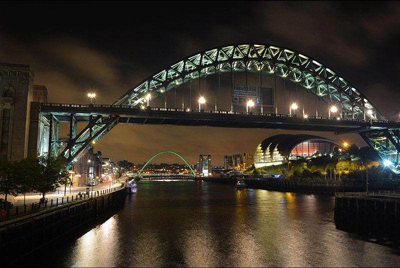Projected 3rd Equal: Night time Tyne