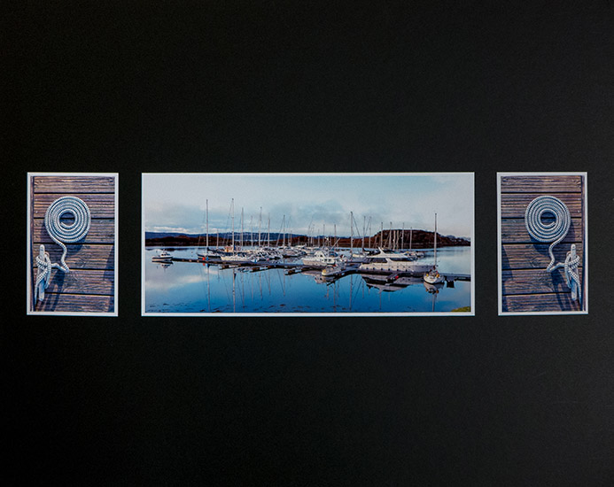 Third Place:  The Marina in Winter