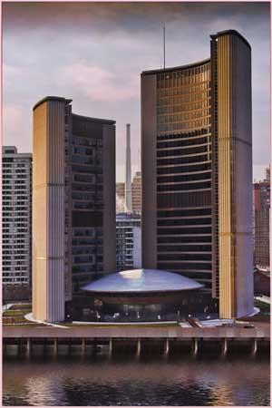Prints 3rd: Toronto City Hall