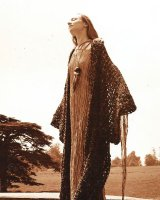 Knitted Coat with Silver Lurex Dress