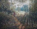 Woods Ruabon.  Oil on Canvas  16'' x 20''