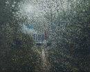Ruabon Woods. Spring Light 3.  Oil on Canvas