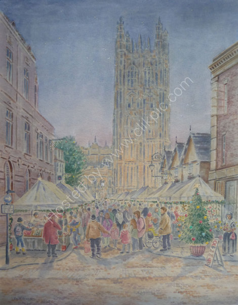 Victorian Christmas Market, Wrexham.   Sold