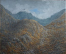 Y Wyddfa from the Miners Track.   16'' x 12''   Oil on Canvas