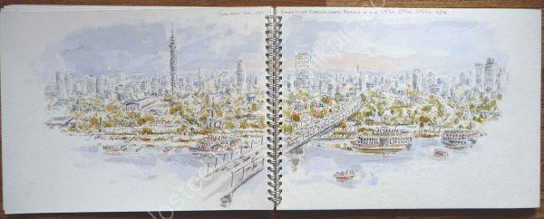 Cairo Skyline.