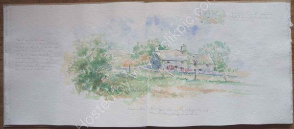 Old Farmhouse Near Bala