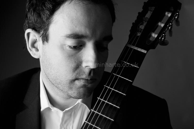 Portrait of guitarist Patrick-Avery-©www.benjaminharte.co.uk-6