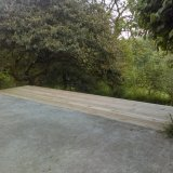 timber deck to extend outside seating area