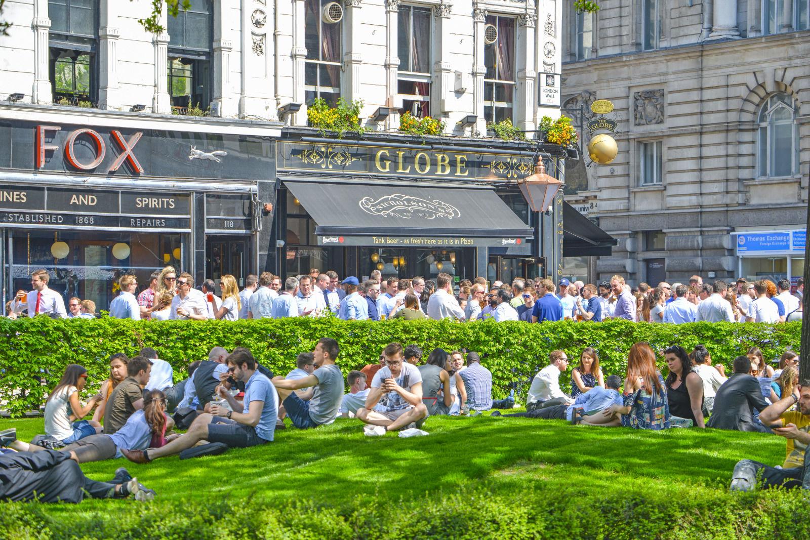 london area photo moorgate