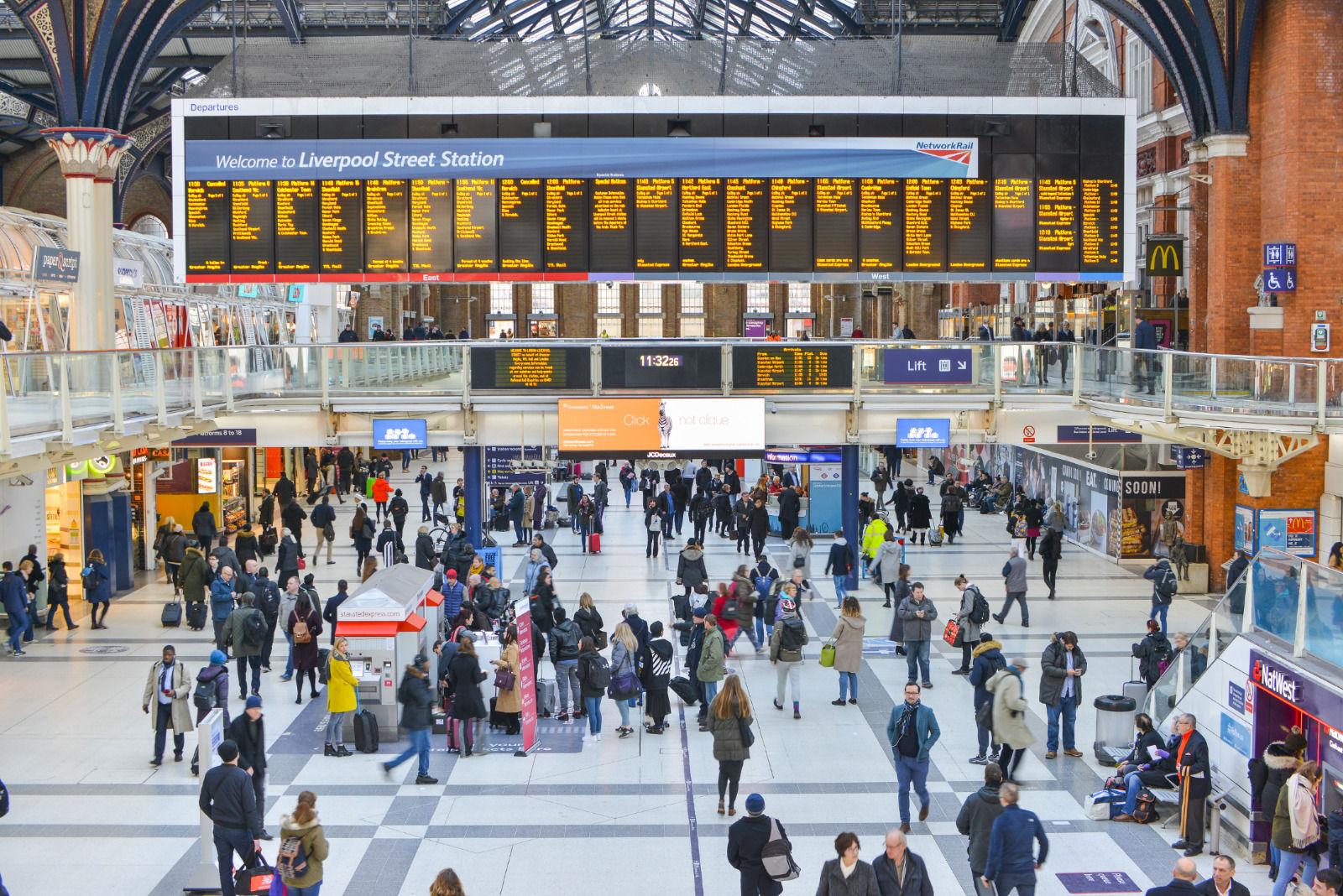 local london area photo liverpool street station
