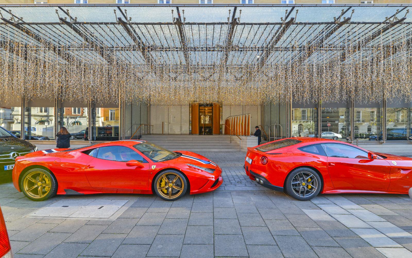 hotel photo luxury cars