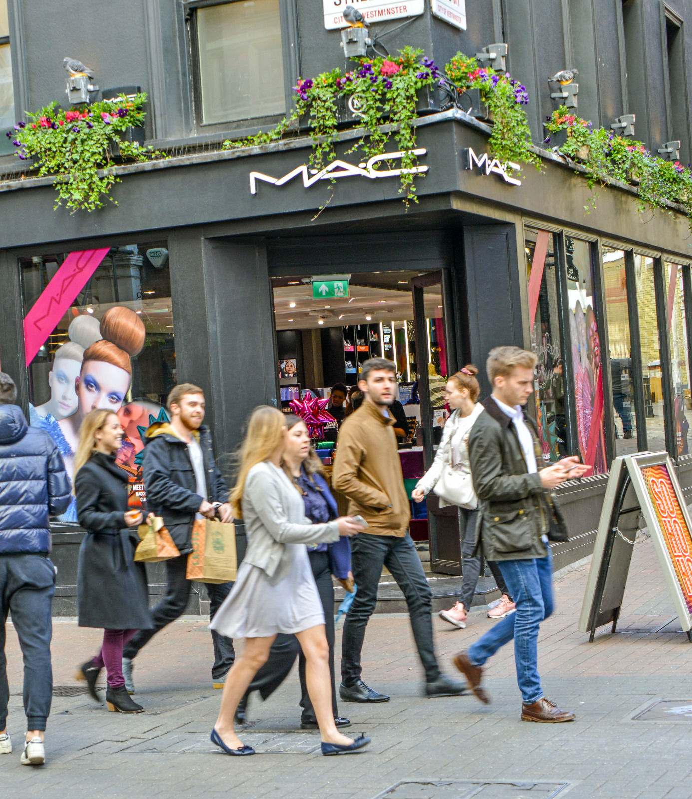 local london area photo luxury shopping