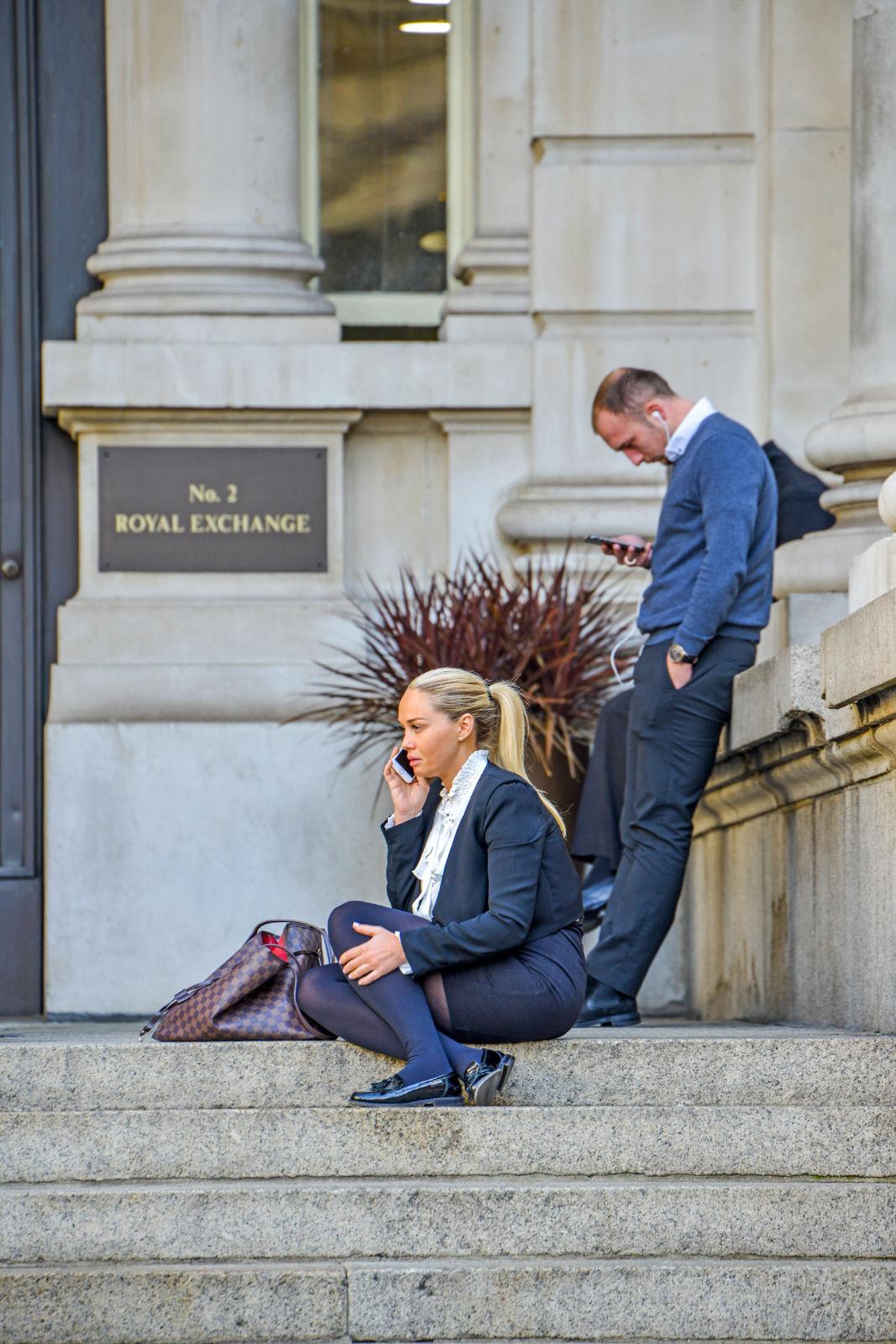 local london area photo royal exchange
