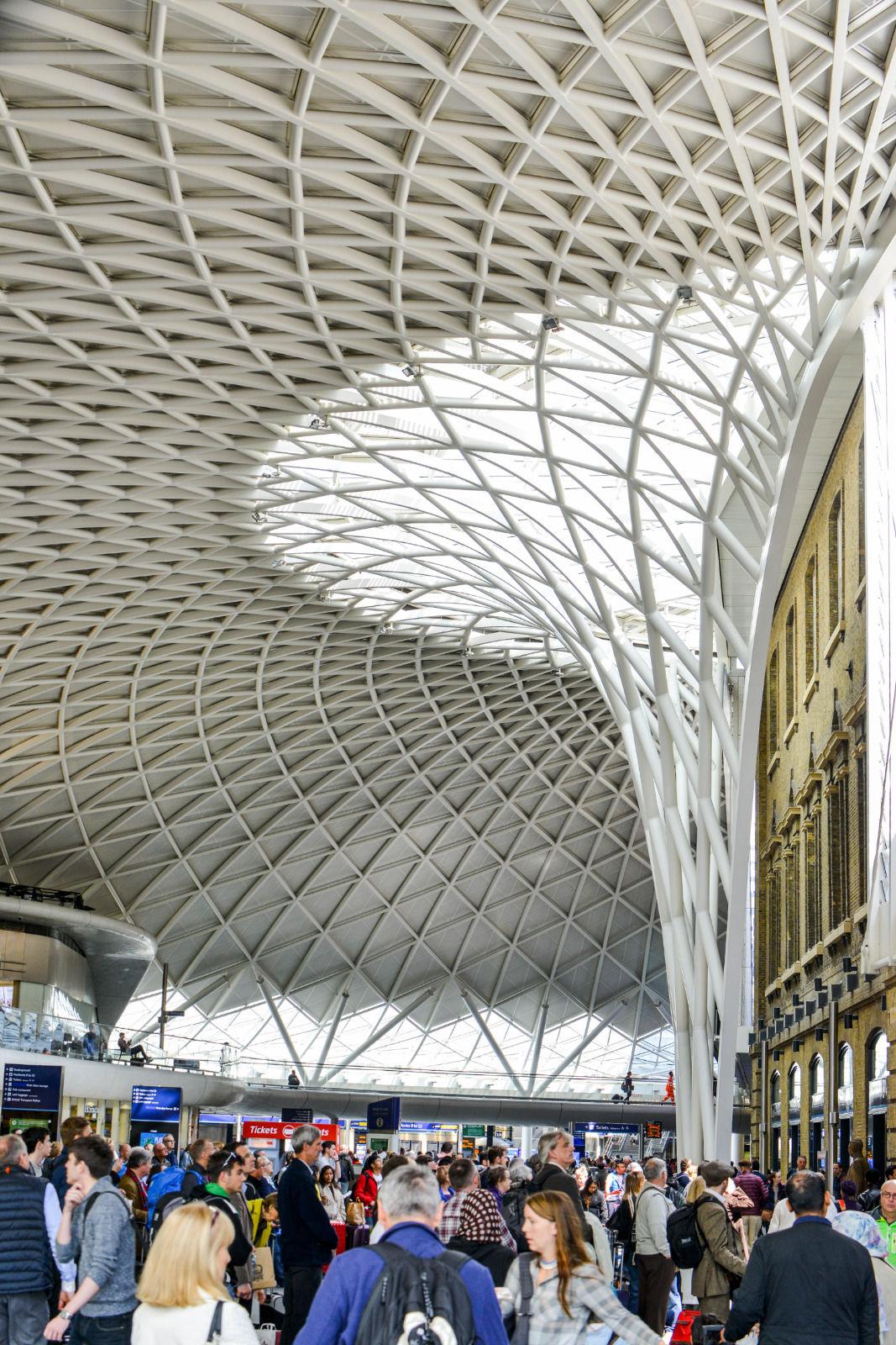 local london area photo kings cross station