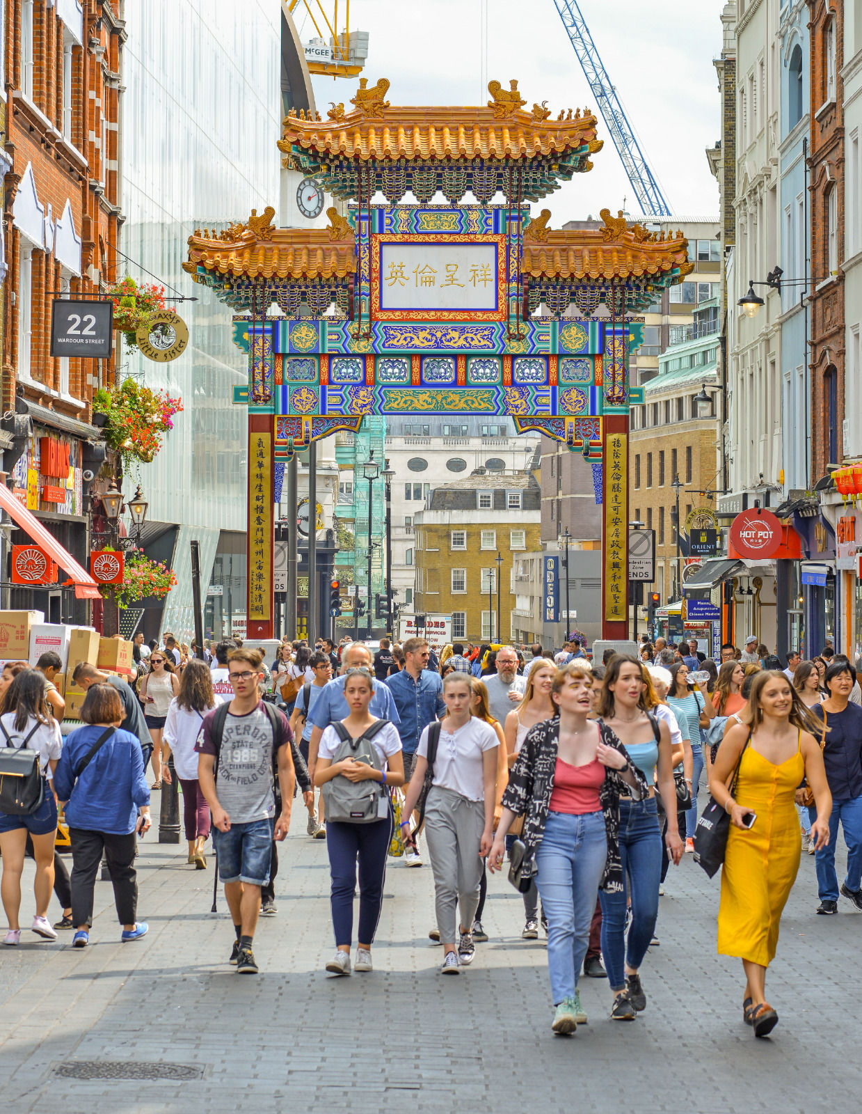 local london area photo china town