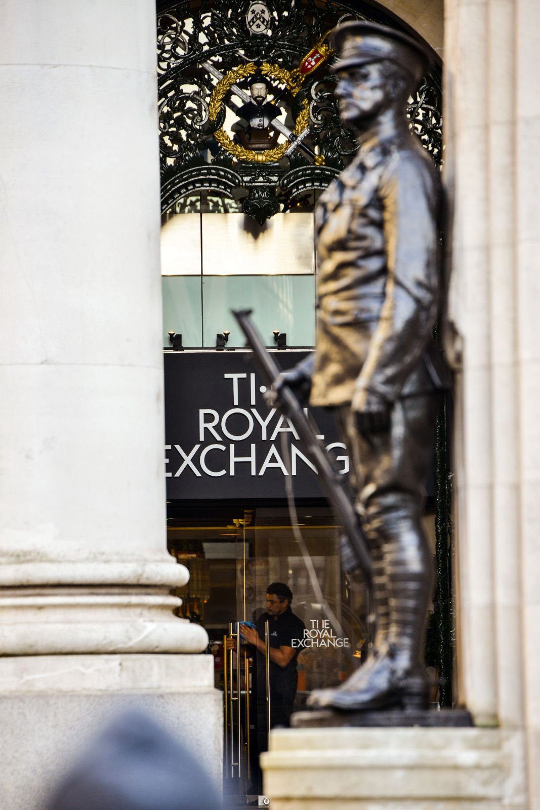local london area photo royal exchange