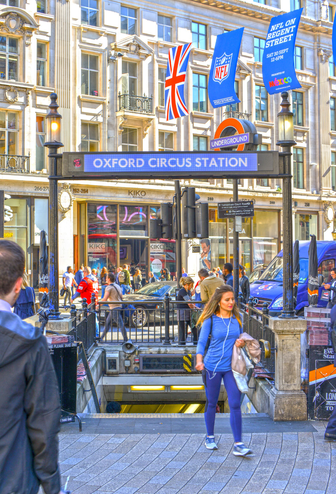 local london area photo oxford circus