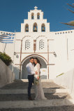 Natalie and Alex, Santorini wedding photography