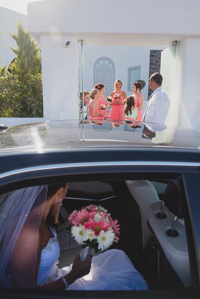 Nicola and Michael, Santorini wedding photography