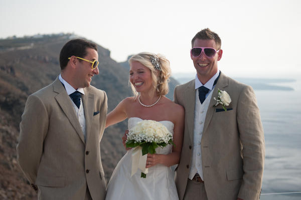Stacy and James, Ben Wyatt Santorini Wedding Photography