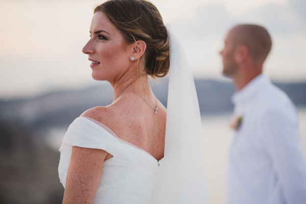 Hayley and Ali, Santorini wedding photography