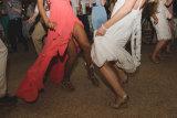 Party feet, Mykonos wedding photography