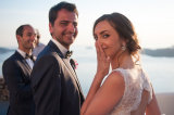Nathalie and Andre, Santorini Wedding Photography