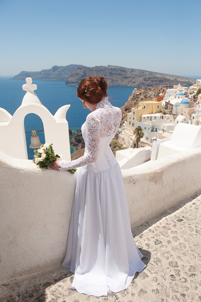 Ekaterina and Dmitry, Santorini Wedding Photography