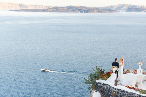 Patti and David, Santorini Wedding Photography