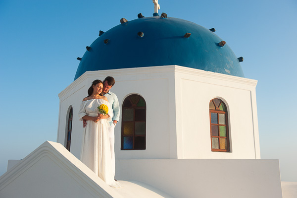 Elena and Alexandr, Santorini Wedding Photography