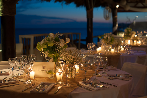 Table decoration, Santorini Wedding Photography