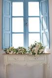 Bridal bouquet, Santorini Wedding Photography