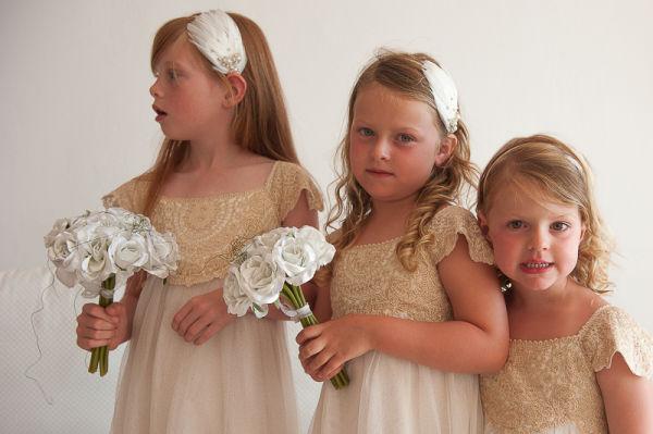Bridesmaids, Ben Wyatt Santorini Wedding Photography