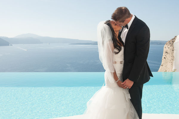 Lindsey and Gunner, Ben Wyatt Santorini Honeymoon Photography