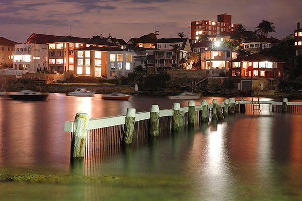 Little Manly Cove reflections