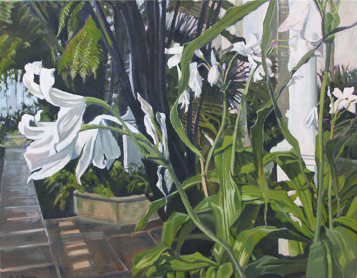The Palm House, Botanic Gardens Edinburgh