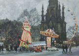 Winter Fair, Princes Street, Edinburgh,
